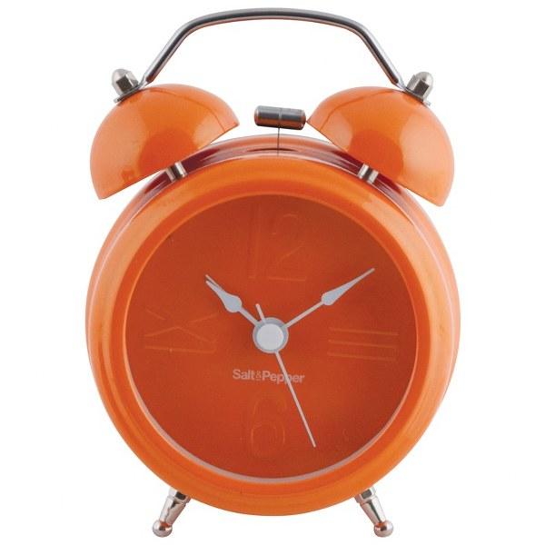 Ρολόι – Ξυπνητήρι Μεταλλικό «Zone» Πορτοκαλί S&P – Salt & Pepper – BAM38323