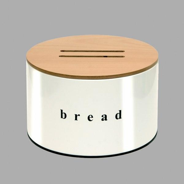 Ψωμιέρα Κουζίνας με Ξύλινο Καπάκι – Pam & Co – 14-09-2518-003