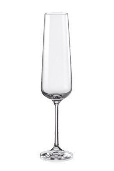 Σετ 6τμχ Ποτήρι Τσεχίας Sandra 200ml - AB - 6-sandra-200ml κουζινα ποτήρια