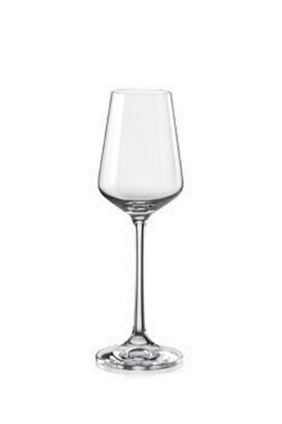Σετ 6τμχ Ποτήρι Τσεχίας Sandra 65ml - AB - 6-sandra-65ml κουζινα ποτήρια