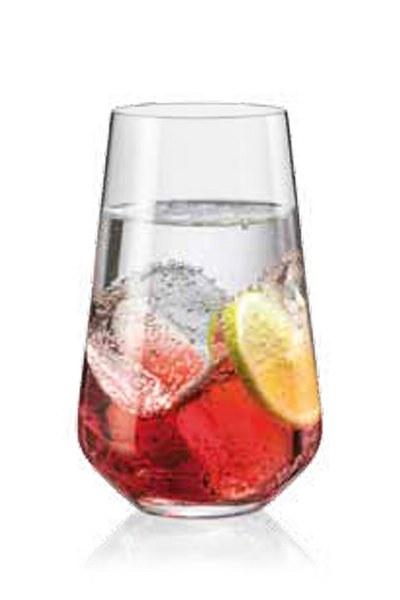 Σετ 6τμχ Ποτήρι Τσεχίας Sandra 440ml - AB - 6-sandra-440ml κουζινα ποτήρια