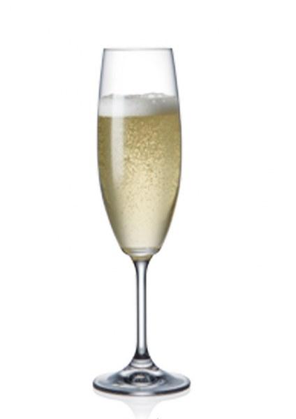Σετ 6τμχ Ποτήρι Τσεχίας Lara 220ml - AB - 6-lara-220ml κουζινα ποτήρια   κούπες