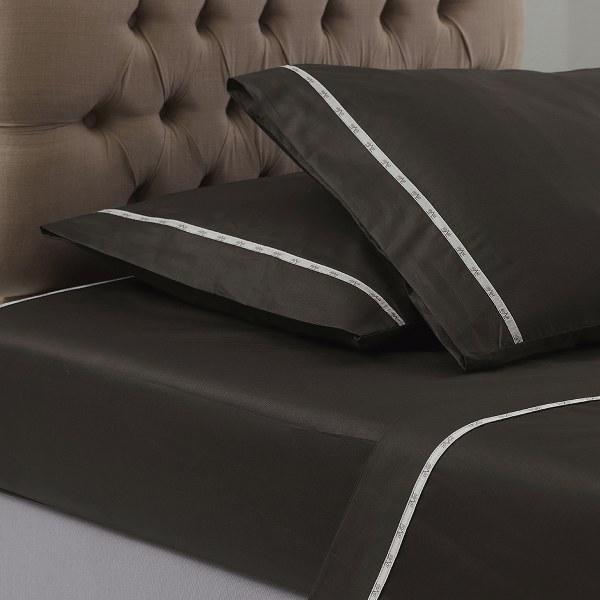 Σεντόνι Μονόχρωμο Colori Wenge V19.69 Italia - Versace 19.69 Abbigliamento Sport λευκα ειδη υπνοδωμάτιο σεντόνια διπλά   υπέρδιπλα