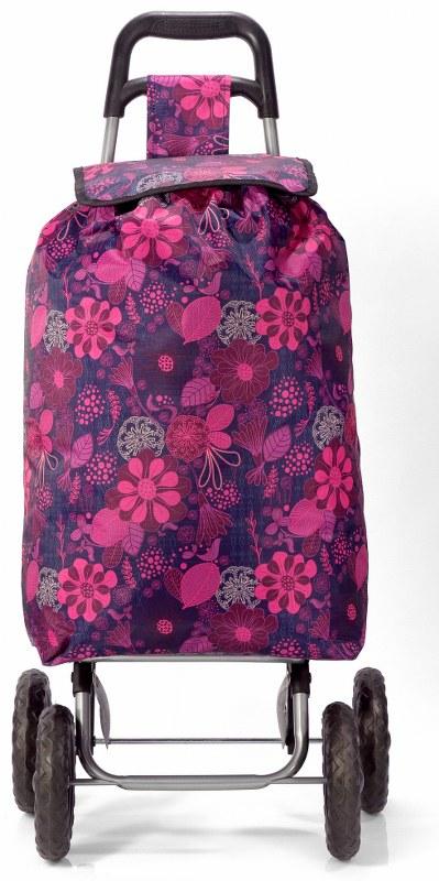 Καρότσι Λαϊκής Με Λουλούδια benzi 5049 – benzi – bz-5049-pink