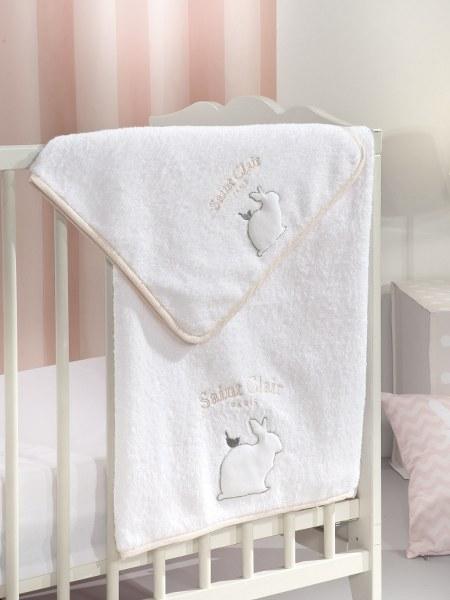 Πετσέτες Μπεμπέ Σετ 2τμχ Lapin Saint Clair – Saint Clair Paris – lapin pink-petsetes