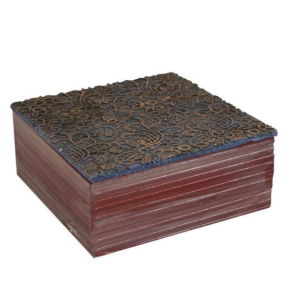 Κουτί Χειροποίητο Ξύλινο – OEM – kouti-dantela