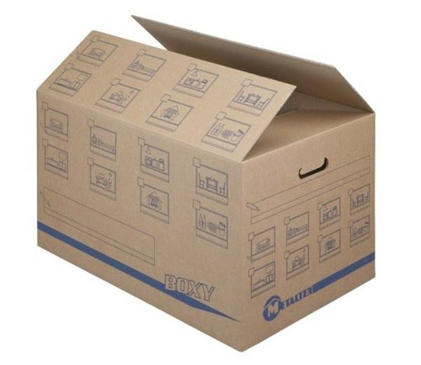 Σετ 5τμχ Κουτιά Μεταφοράς Οικολογικά Metaltex - METALTEX - 757545 ειδη οικ  χρησησ είδη οικ  εξοπλισμού
