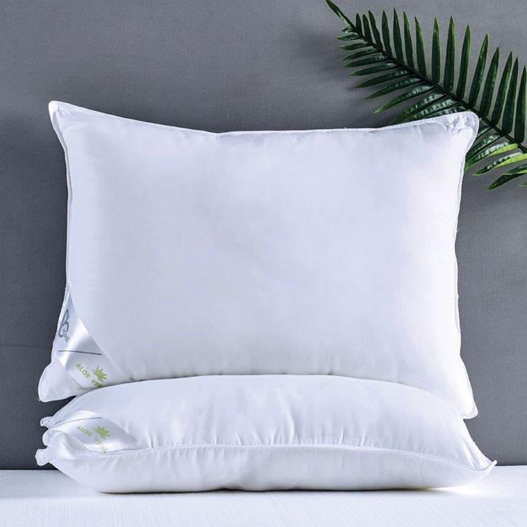 Μαξιλάρι Microfiber 50×70εκ. Aloe Vera Sb home (Ύφασμα: Microfiber, Χρώμα: Λευκό) – Sb home – 5206864011748