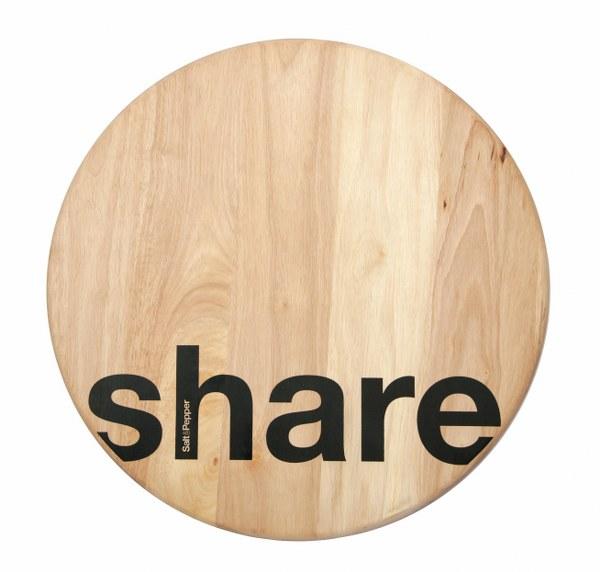 Περιστρεφόμενο Πλατό Ξύλινο Share Loft S&P (Υλικό: Ξύλο) – Salt & Pepper – BAM41927