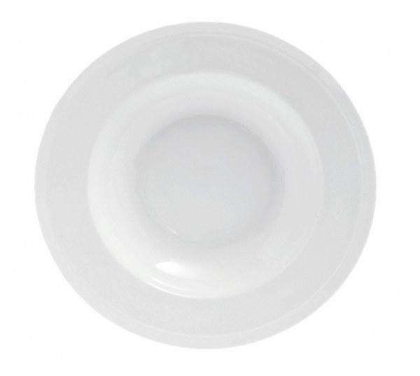 Πιάτο Πορσελάνης Βαθύ Edge Rim S&P – Salt & Pepper – BAM42165