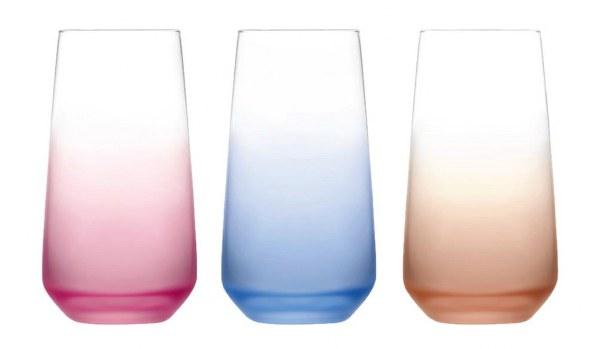 Ποτήρι Νερού Σετ 3τμχ Lal (Υλικό: Γυαλί) – LAV – 4-IZ L376001