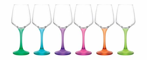 Ποτήρι Νερού Σετ 6τμχ Lal (Υλικό: Γυαλί) – LAV – 4-IZ L569120