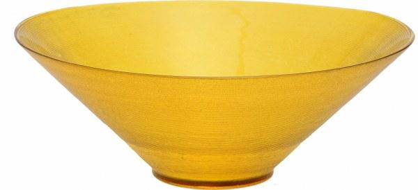 Σαλατιέρα Γυάλινη Κίτρινη - OEM - 4-UNV001/Y κουζινα είδη σερβιρίσματος