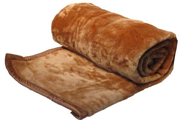 Κουβέρτα Μονή Velour Ultra Soft 600gsm Κάμελ - KOMVOS HOME - blanket-camel-1 λευκα ειδη υπνοδωμάτιο κουβέρτες μονές   ημίδιπλες