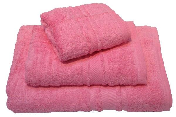 Σετ 3τμχ Πετσέτες Πενιέ Zero Twist – OEM – 500-pink