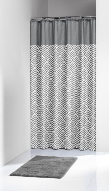 Κουρτίνα Υφασμάτινη «Angoli grey» Sealskin – sealskin – 233561312