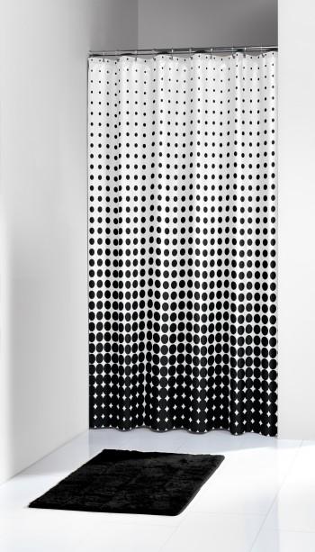 Κουρτίνα Υφασμάτινη «Speckles Black» Sealskin – sealskin – 233601319