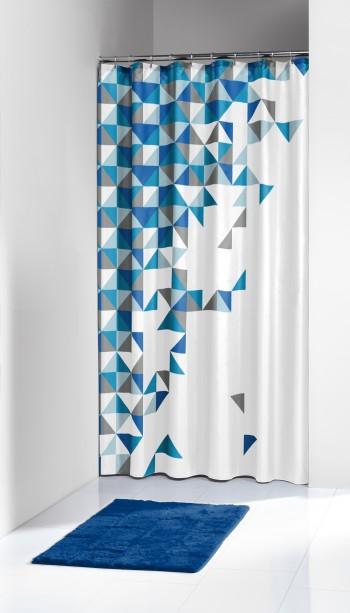 Κουρτίνα Υφασμάτινη «Τangram Blue» Sealskin – sealskin – 235231324