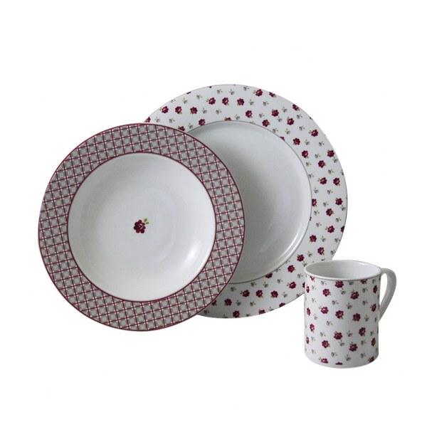 Σερβίτσιο Πορσελάνης Country 20 Τεμαχίων - AB - 6-773-20 κουζινα πιάτα   σερβίτσια