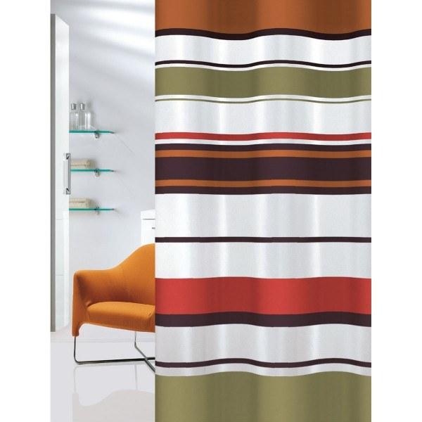 Κουρτίνα Μπάνιου Υφασμάτινη Brick Lines Joy Bath - Joy Bath Accessories - brick- λευκα ειδη mπάνιο κουρτίνες μπάνιου