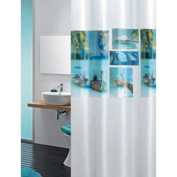 Κουρτίνα Μπάνιου Πλαστική Beach Joy Bath - Joy Bath Accessories - beach μπανιο κουρτίνες μπάνιου