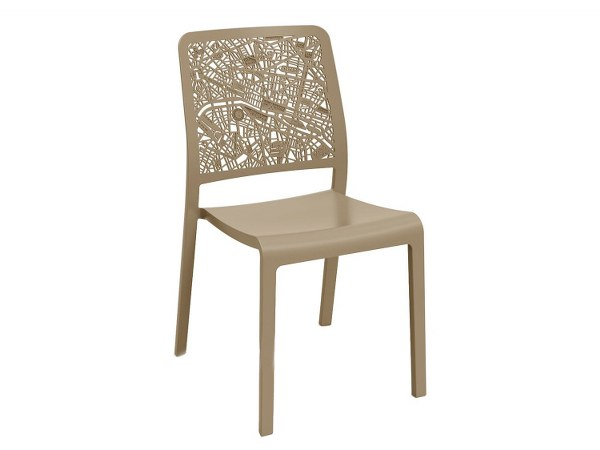 Καρέκλα Εξωτερικού Χώρου City Cappuccino – Allibert – city-k-chair-cappuccino
