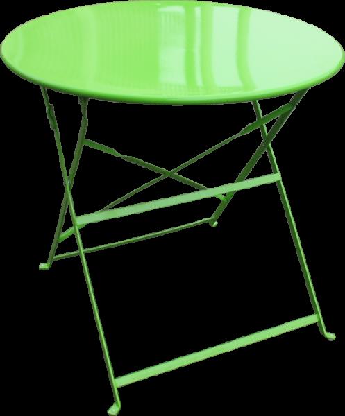 Τραπέζι Εξωτερικού Χώρου Αντικέ/80 Λαχανί - OEM - antike/80-light-green κηποσ   βεραντα τραπέζια κήπου