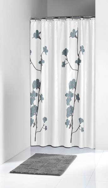 """Κουρτίνα Υφασμάτινη """"Orchid Blue"""" Sealskin (180×200εκ.) – sealskin – 233031324"""