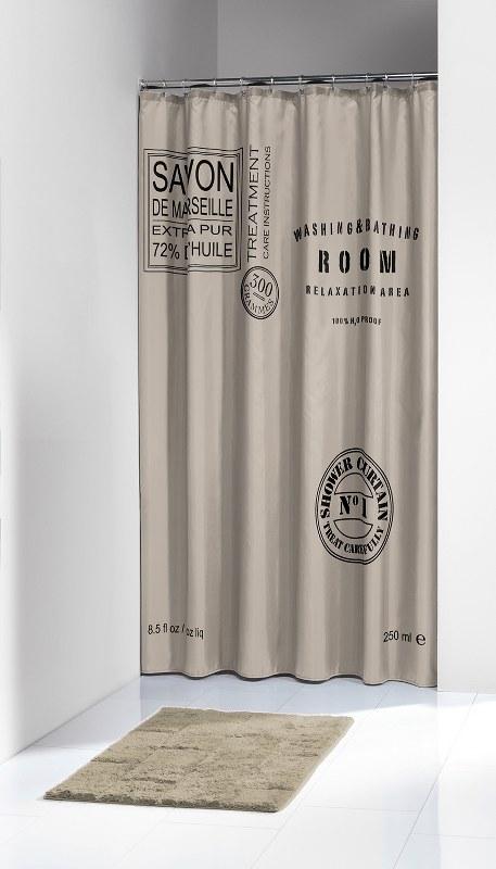 Κουρτίνα Υφασμάτινη «Savon de Provence Linen» Sealskin (180×200εκ.) – sealskin – 233321366