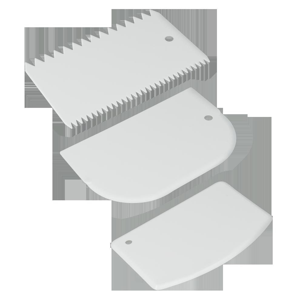 ΣΕΤ 3 Σπάτουλες Ζαχαροπλαστικής - METALTEX - 252521