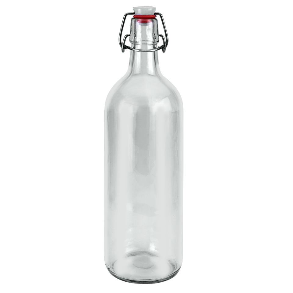 Μπουκάλι γυάλινο Με Κλιπ 200ml Metaltex – METALTEX – 16-235362