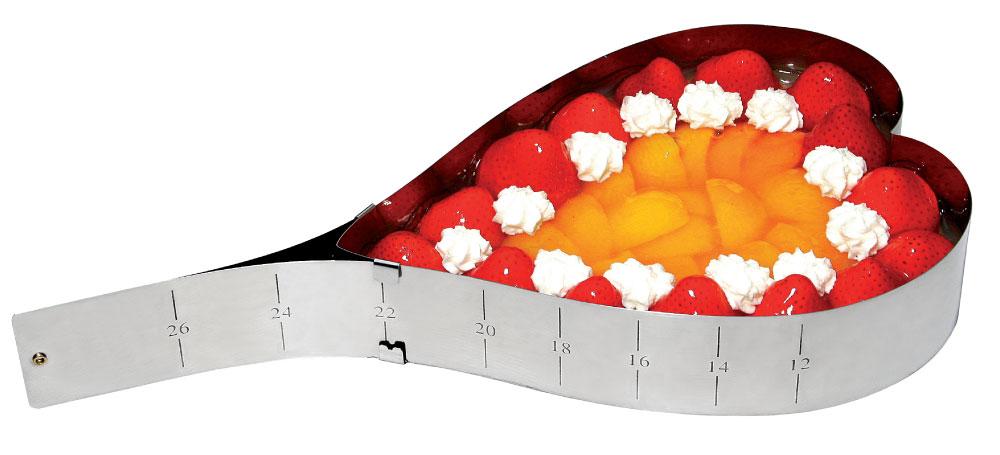 Τσέρκι Γλυκού/Φαγητού Καρδιά - METALTEX - 51806