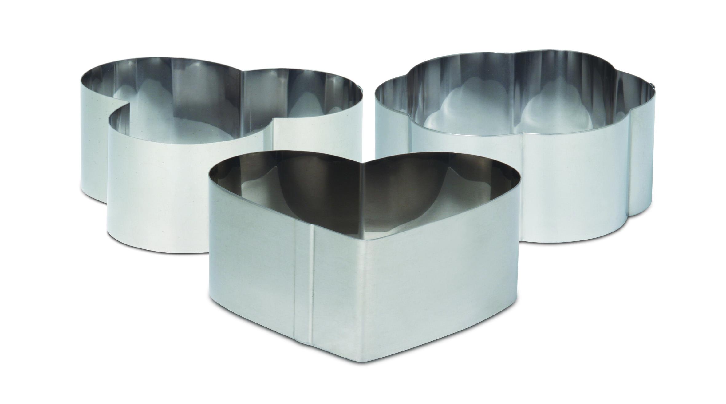 ΣΕΤ 3 Δαχτυλίδια Φορμάκια Μίνι – METALTEX – 51032