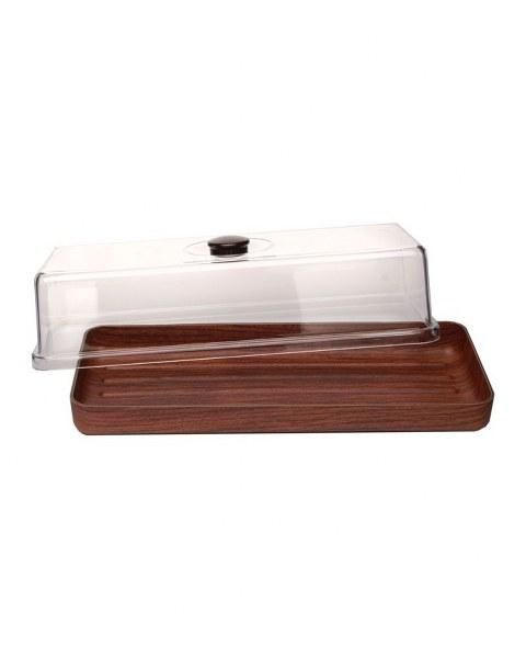 Ψωμιέρα Με Καπάκι 16x39x13εκ. Evelin – EVELIN – 8-02490