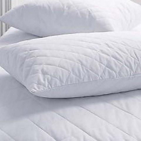 Μαξιλάρι Ύπνου Λευκού Πουπουλένιο Καπιτονέ 50×70εκ. – OEM – 5201847-111767