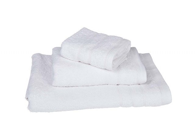 Πετσέτα Λευκή Πεννιέ 500gr/m² Stripe 40×60εκ. – OEM – 5201847-777772