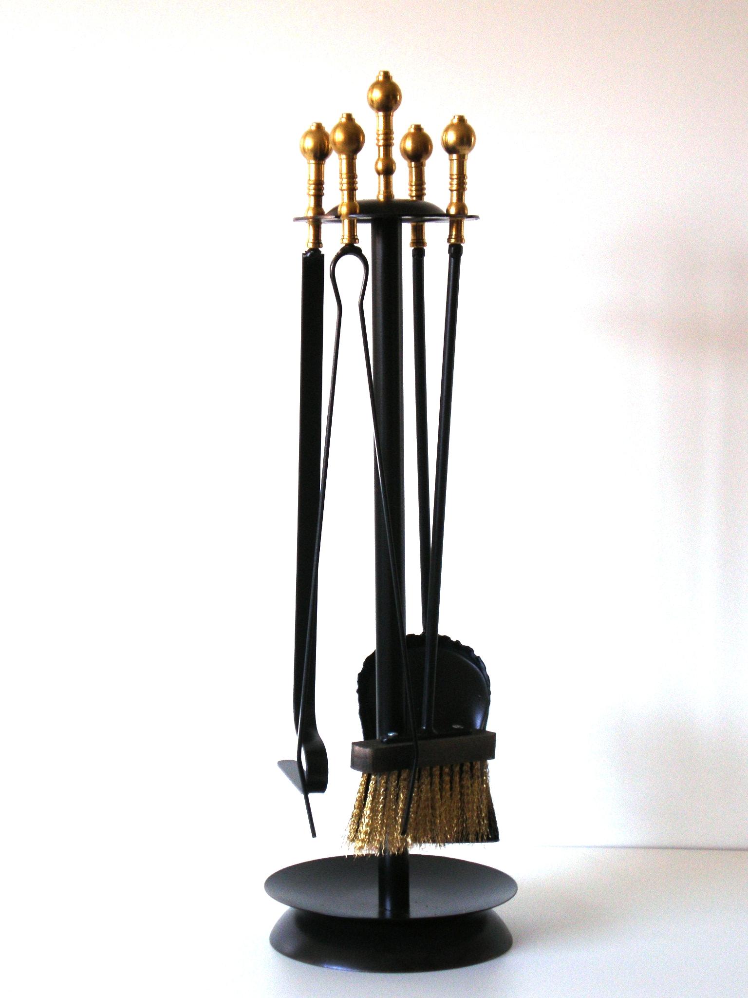 """Κρεμανταλάς Σιδερένιος """"Μαύρος ORO Μπίλια"""" - Β - 3-112 ΜΑΥΡΟ ORO ΜΠΙΛΙΑ διακοσμηση σαλόνι είδη τζακιού"""