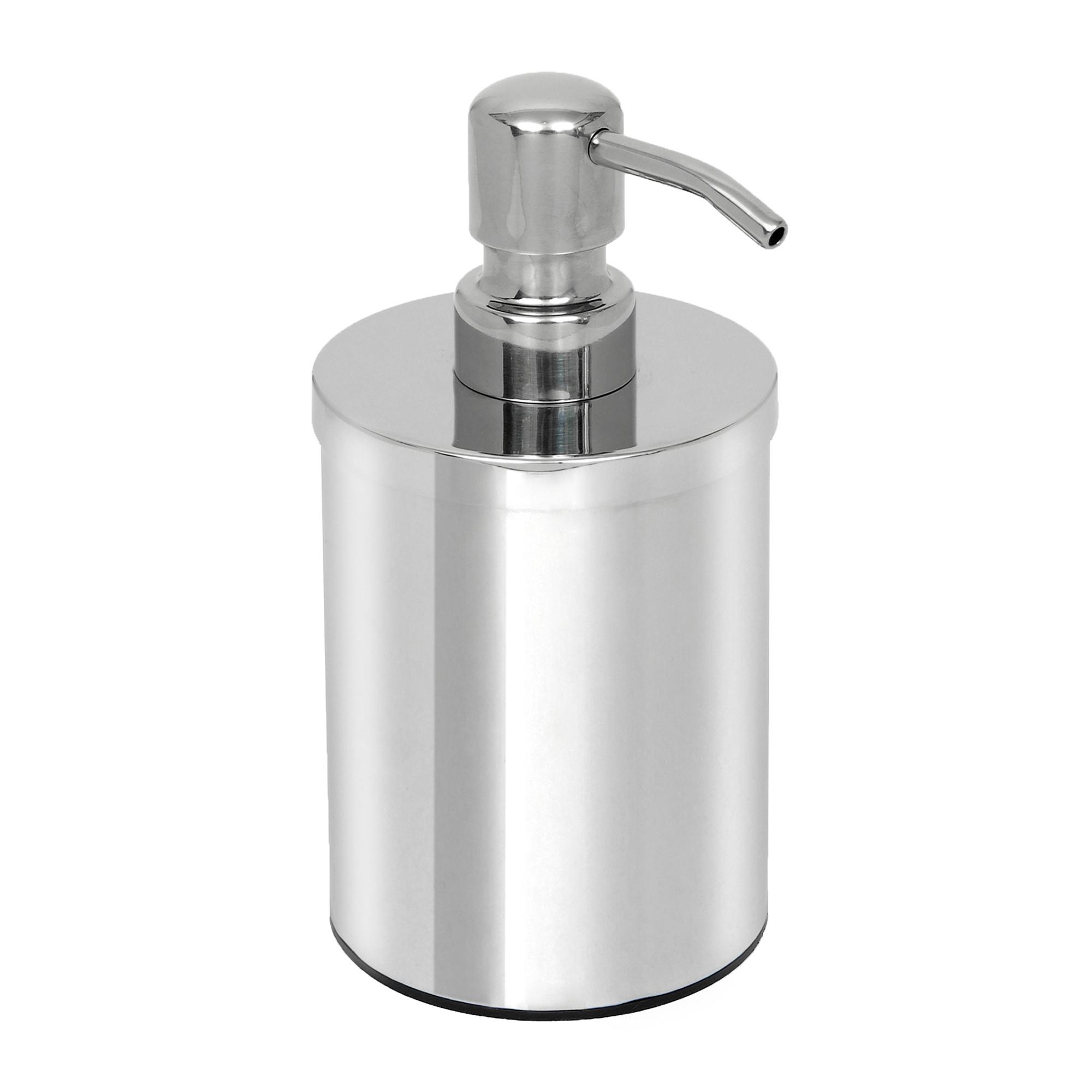 Ντισπένσερ Inox 8x16εκ. Pam & Co - Pam & Co - 90-001 μπανιο αξεσουάρ μπάνιου