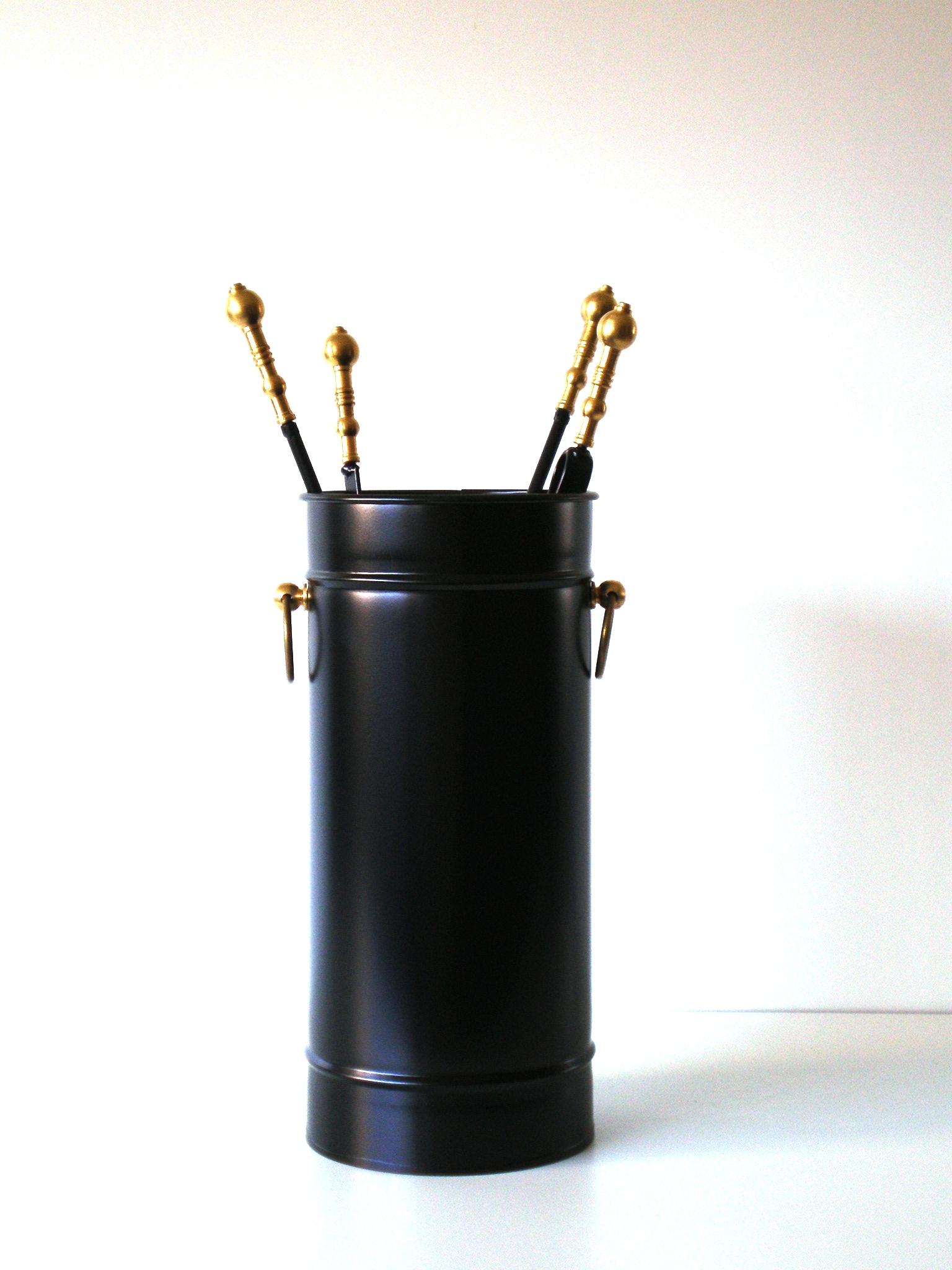 """Κρεμανταλάς Κουβαδάκι """"Μαύρο Μπίλια Oro"""" - Β - 3-115 ΜΑΥΡΟ ΜΠΙΛΙΑ ORO διακοσμηση σαλόνι είδη τζακιού"""