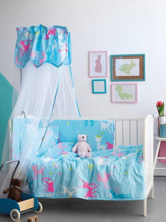 Σετ Κρεβατιού 6τμχ Bebe Palamaiki BS7012 - Palamaiki - bs7012-set λευκα ειδη παιδί προίκα μωρού