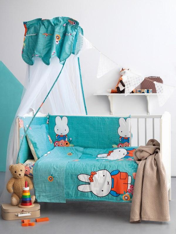 Σετ Κρεβατιού 6τμχ Bebe Palamaiki BS7014 - Palamaiki - bs7014-set λευκα ειδη παιδί προίκα μωρού