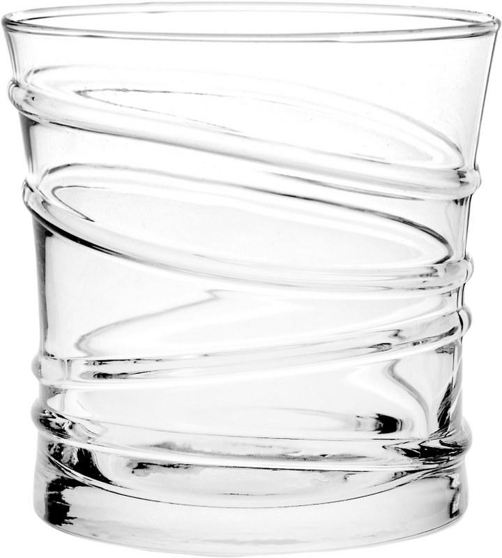 Ποτήρι Ουίσκυ Σετ 6τμχ Ring 320ml IZ RNG/349 (Υλικό: Γυαλί, Χρώμα: Διάφανο ) – EVE – 4-IZ RNG/349