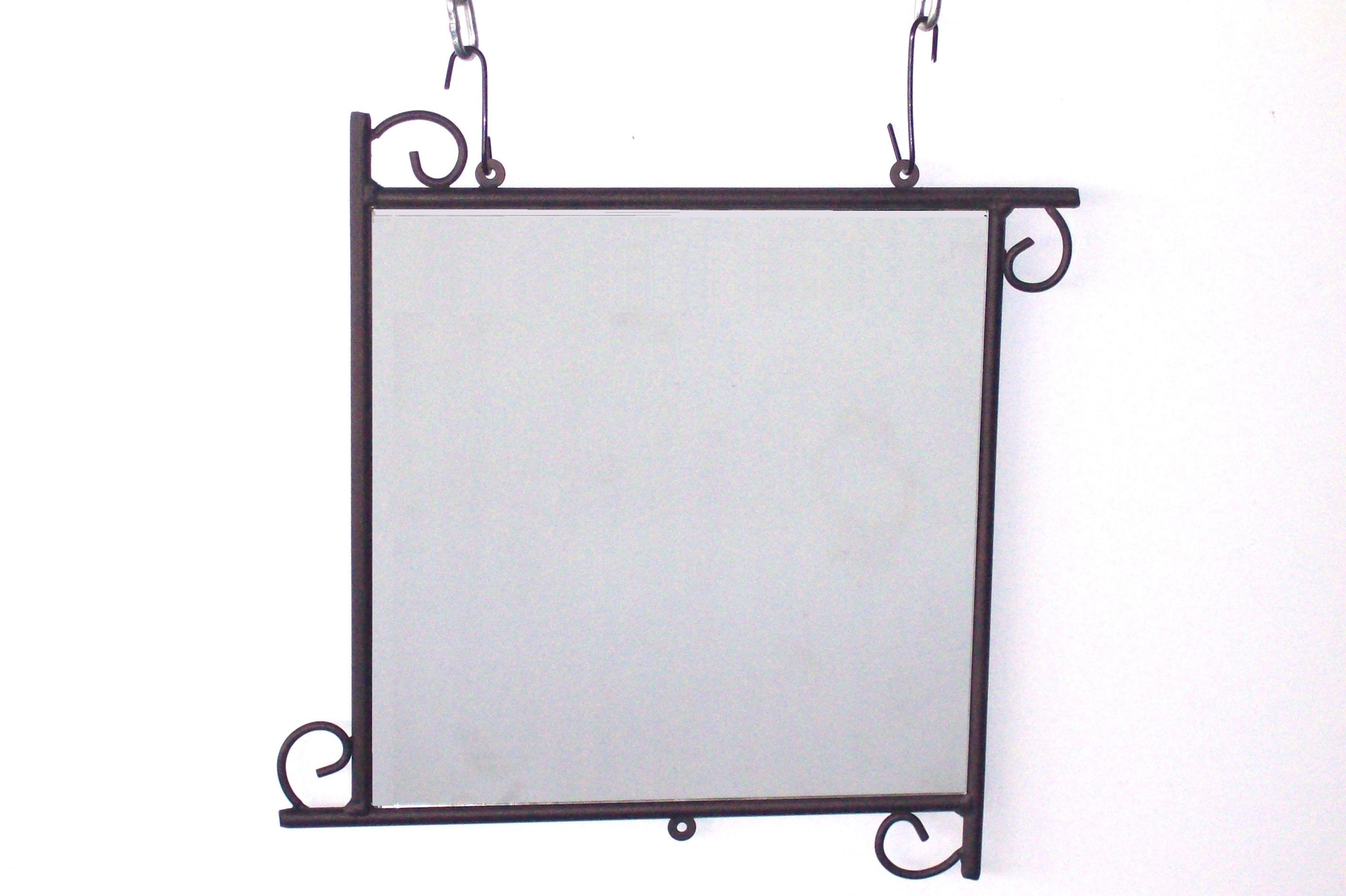Καθρέπτης Τοίχου Τετράγωνος «Καραβολάκι» – Β – 3-kath2