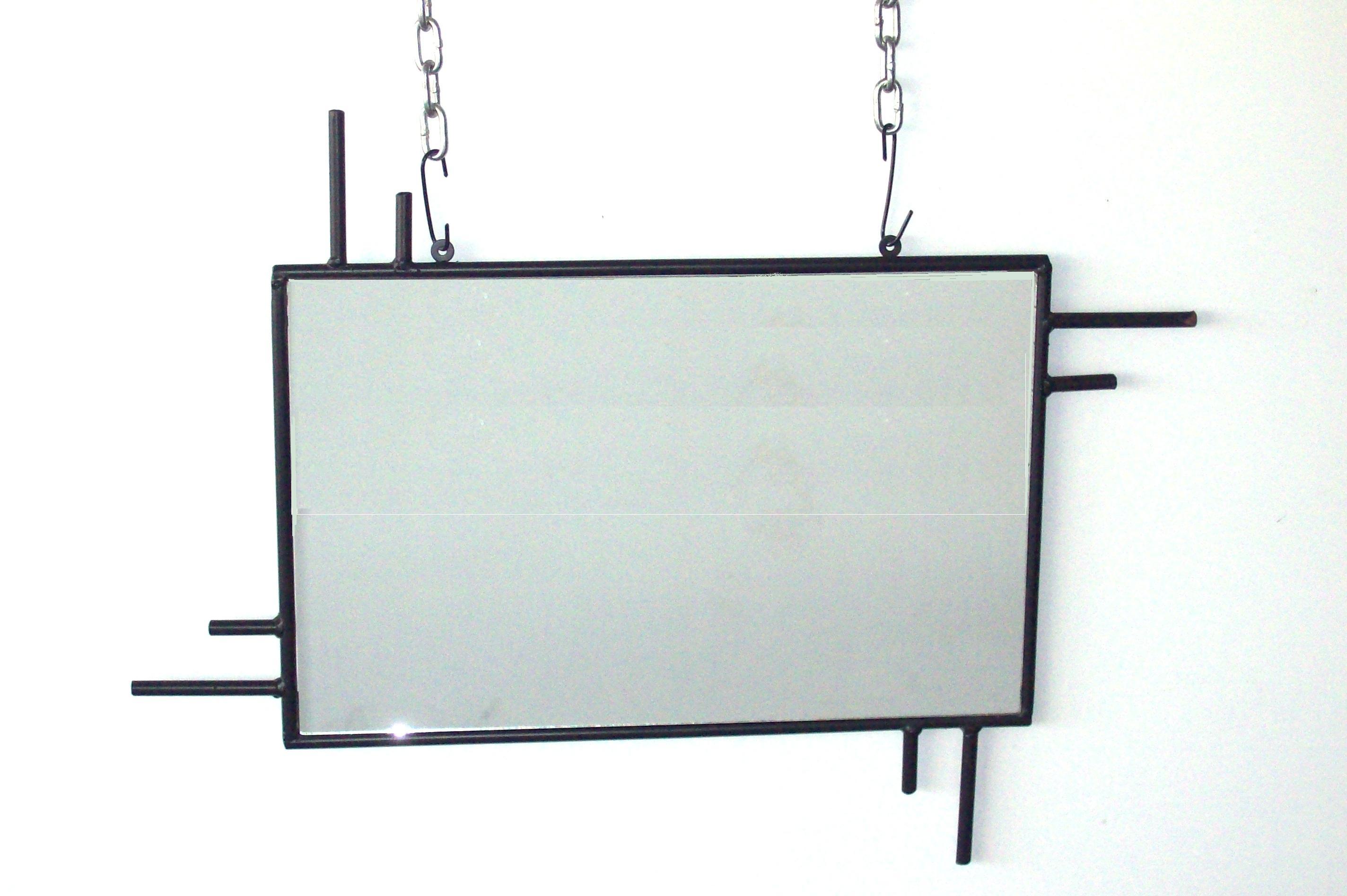 """Καθρέπτης Τοίχου Ορθογώνιος «Διπλός"""" – Β – 3-kath3"""
