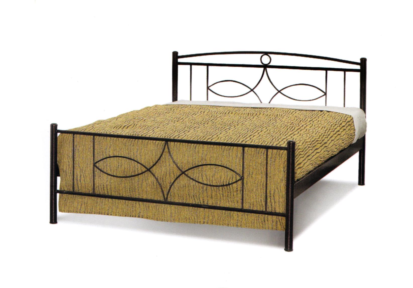 Κρεβάτι Σιδερένιο Διπλό 350 – Β – 3-350