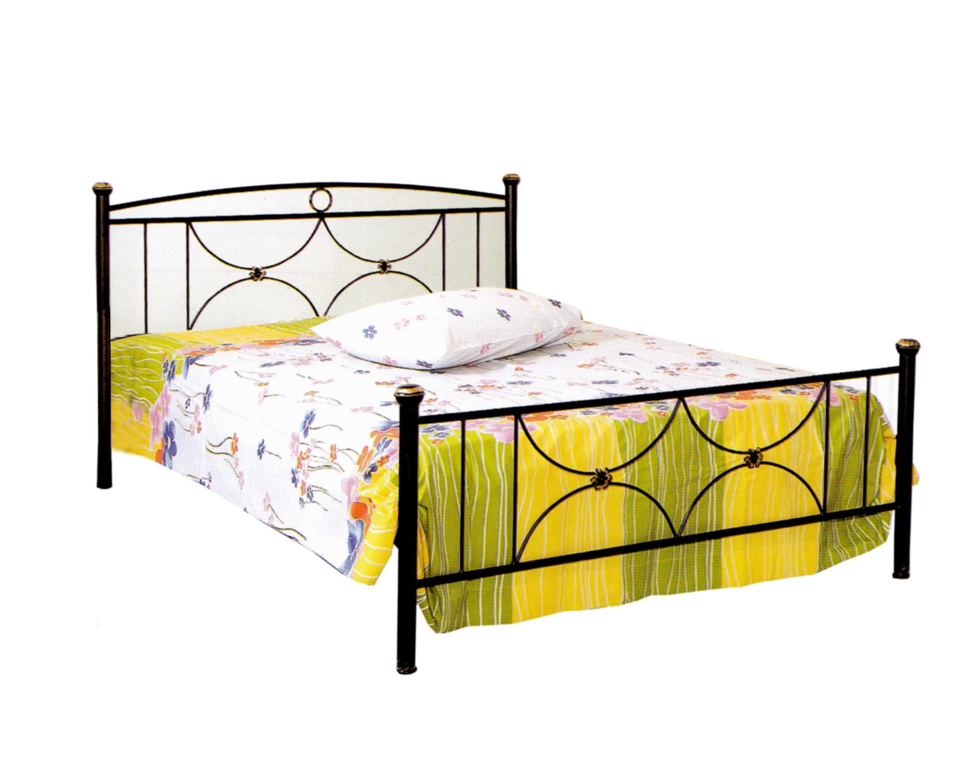 Κρεβάτι Σιδερένιο Διπλό 370 – Β – 3-370