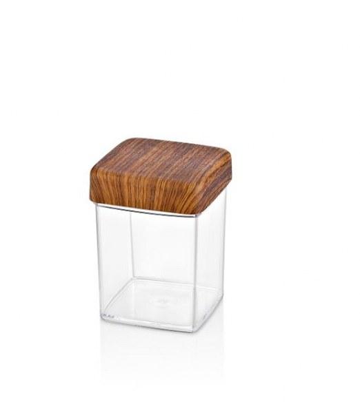 Βάζο Τετράγωνο 0,63L Evelin (Υλικό: Πλαστικό) – EVELIN – 8-10817