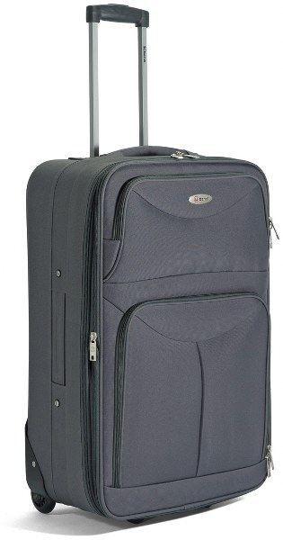 Βαλίτσα Καμπίνας Τρόλευ με 2 Ρόδες benzi 4456 Grey - benzi - BZ-4456/50-grey καλοκαιρινα βαλίτσες   τσάντες ταξιδίου