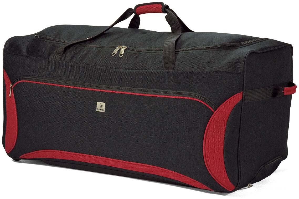 Σακ Βουαγιάζ Τρόλευ με 2 Ρόδες benzi 3822 Black-Red – benzi – BZ-3822-black-red
