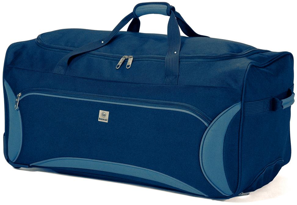 Σακ Βουαγιάζ Τρόλευ με 2 Ρόδες benzi 3822 Blue-Grey - benzi - BZ-3822-blue-grey ειδη οικ  χρησησ βαλίτσες   τσάντες ταξιδίου